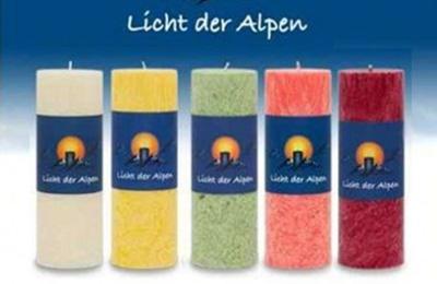 """Allgäuer Duftkerzen """"Licht der Alpen"""""""